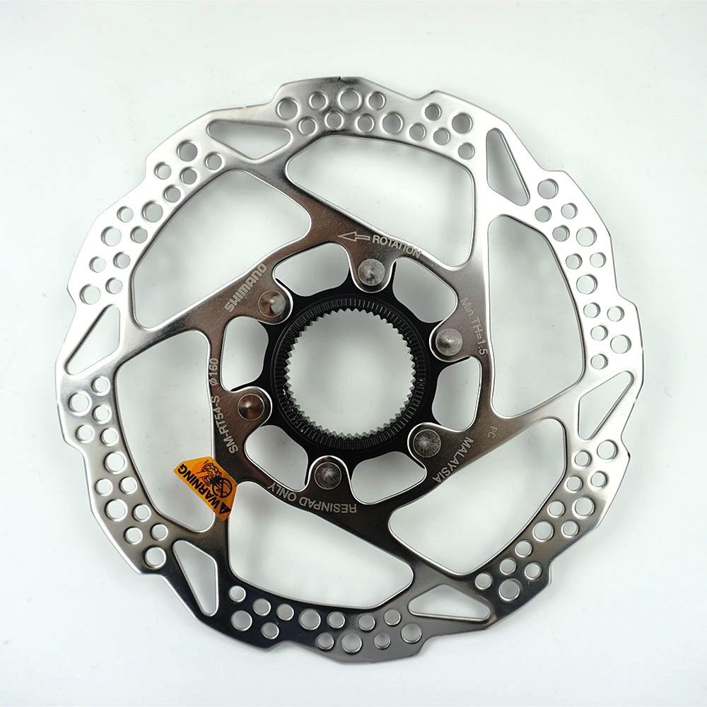 Shimano SM-RT30 Center Lock Brake Rotor Disc160mm//180mm Mountain Bike 1PC