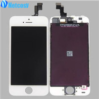2014 New LCD Display Touch Screen Digitizer Assembly Glass Replacement For IPhone 5S Hot Sale FREE
