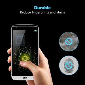 Image 2 - 3D Pieno Curvo Copertura In Vetro Temperato per LG Velluto G5 G8 V35 V30 Più Protezione Dello Schermo Pellicola Protettiva LG V40 v50 Vetro Temperato