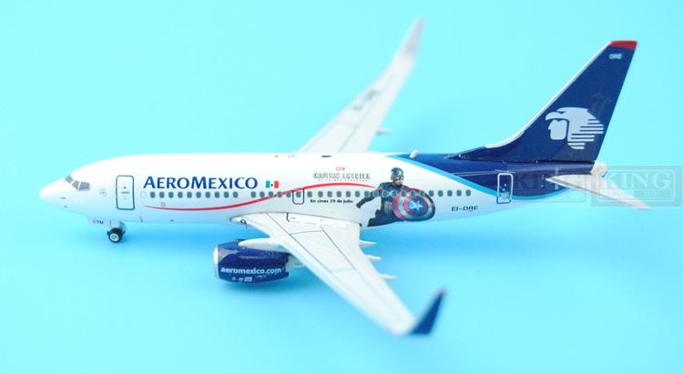 Phoenix 04040 Mexico Airlines EI-DRE B737-700/w USA captain 1:400 commercial jetliners plane model hobby  phoenix 11093 ruian airlines ei fei 1 400 b737 800 w commercial jetliners plane model hobby