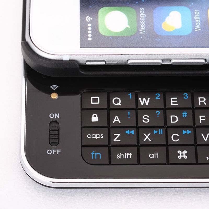 new products dfdfa f7d32 US $23.49 |Wireless Ultra thin Slide out Slim Sliding Bluetooth Keyboard  Case Cover For iPhone 6/6S 4.7'' on Aliexpress.com | Alibaba Group
