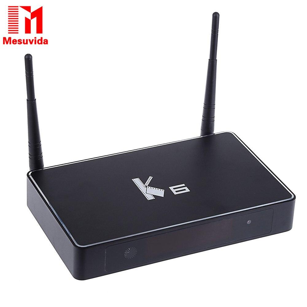 Mesuvida K6 TV Box Amlogic S812 Android 5.1.1 Quad-core 2.4GHz/5GHz WiFi Bluetooth 4.0 2GB RAM 8GB ROM Set Top Box Media Player  mesuvida k6 tv box amlogic s812 android 5 1 1 quad core 2 4ghz 5ghz wifi bluetooth 4 0 2gb ram 8gb rom set top box media player
