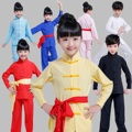 Ancient Chinese Tai Chi Summer Cotton and Linen Uniforms Exercises Martial Arts Costumes  Male and Female Kung Fu Dance Custome