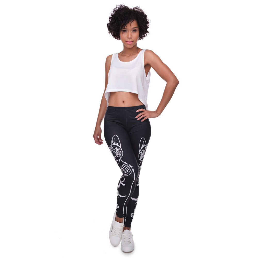 Bastet Egyptian Cat Design Women's Leggings
