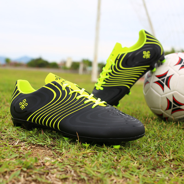 3744a5fcde8a Authentic Men Football Boots Superfly Predator Cleats 18.1 FG Firm Court  Trainers Adult Boy Messi Soccer Shoes Women Sneakers