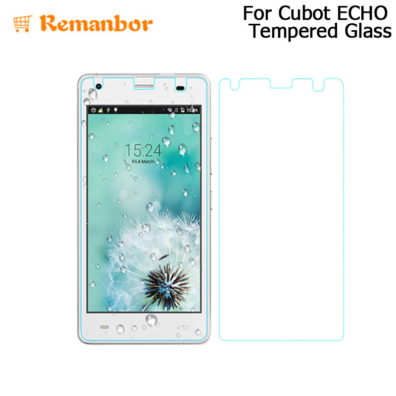 Remanbor For Cubot ECHO Tempered Glass Film Screen Protective Film Steel Films Peplacement For Cubot ECHO Phone Accessories