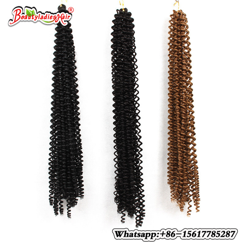Hot selling 18 inch black/brown freetress hair freetress braid box braids crochet braids hair extension brazilian hair