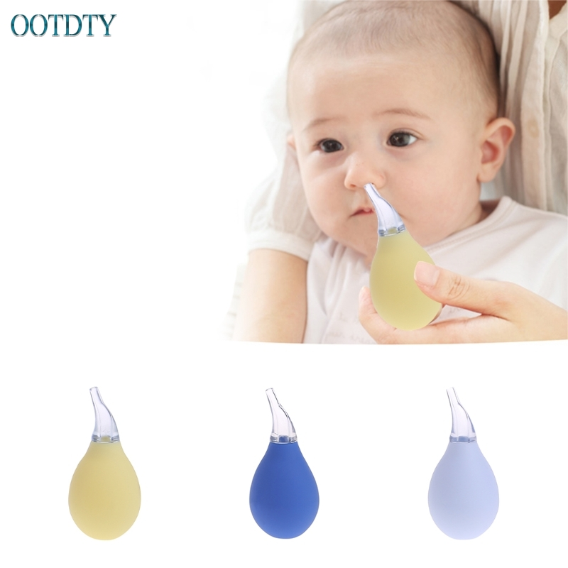 Baby Safe Nose Cleaner Vacuum Suction Nasal Mucus Runny Aspirator Inhale BL