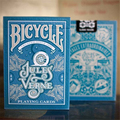 Bicycle Poker Solitaire Jules Verne High-end Collection Playing Cards Magic Deck Magia Props Magic Tricks 81284