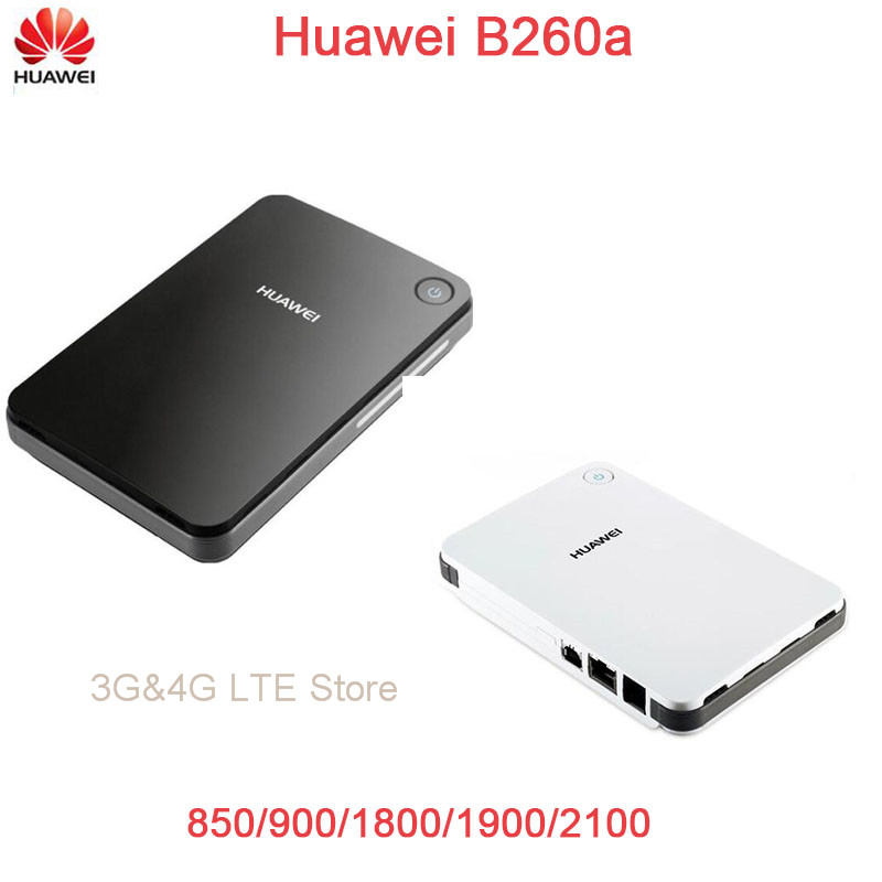 Huawei B260a 3G fwt/fixed wireless terminal/3g Wireless router 850/900/1800/1900/2100MHz black / white 1 set fixed gsm terminal 800 850 1800 1900 quad band wireless sim card interchange support 2g 3g 4g can edit imei new module