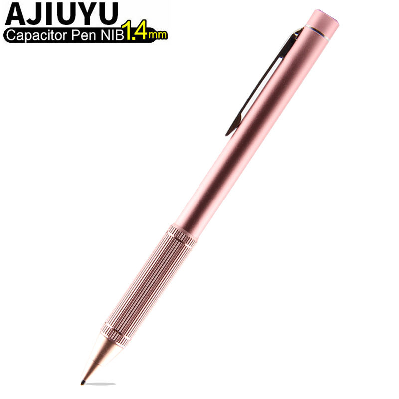 Active pen pantalla táctil capacitiva para el iPhone x 8 más 7 6 s 6 s más 5S se 5C pluma lápices para pantalla táctil del teléfono móvil de alta precisión punta 1.4mm