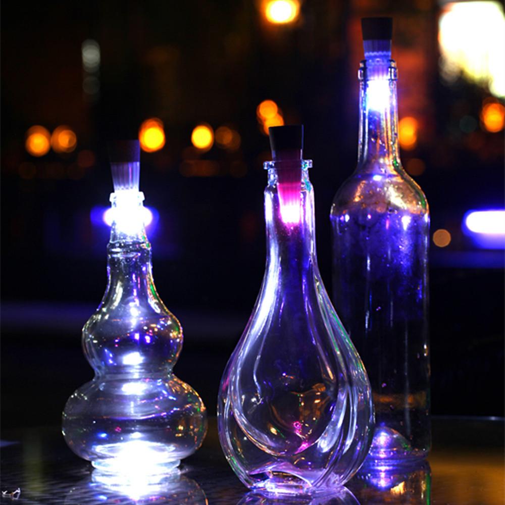 bottle cork lights