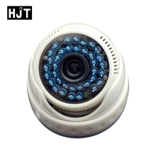 HJT 48V POE Onvif H.264 Full-HD 2.0MP 1080P IP Camera Dome Plastic 36IR Night Vision 3.6mm Lens Security Outdoor RTSP FTP Email