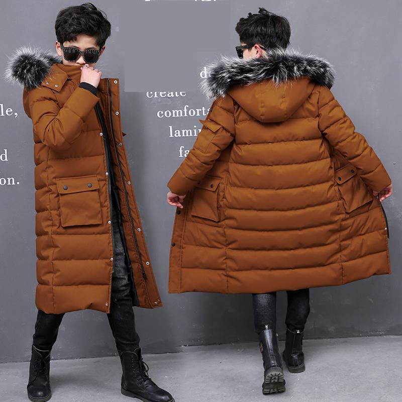Winter Boys Long Hooded Snowsuits Cotton Jackets Children Warm Coats Kids Big Natural Real Fur Collar Jacket Christmas ClothesWinter Boys Long Hooded Snowsuits Cotton Jackets Children Warm Coats Kids Big Natural Real Fur Collar Jacket Christmas Clothes