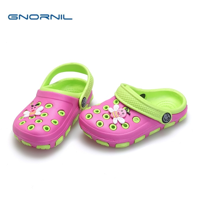 fashion children slippers girls slippers cute cartoon charms summer kids  slippers casual non-slip comfortable kids shoes ccb09efed76