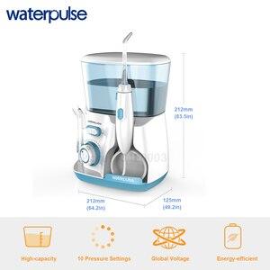 Image 3 - Waterpulse V300 800Ml Monddouche 7Pcs Tips Dental Water Flosser Water Floss Mondhygiëne Tanden Bleken Water Flossen