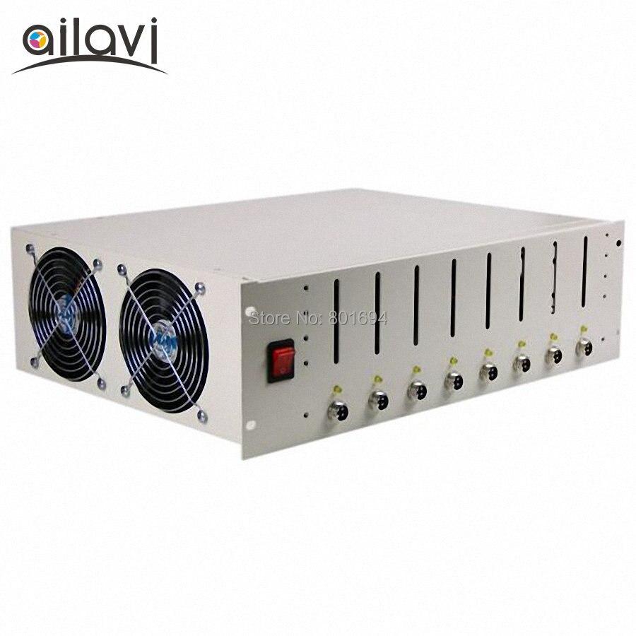 EBC-X 8 canaux batterie sous-armoire 3.2 V 3.7 V 4.2 V 18650 capacité de la batterie testeur Charge et décharge 10A Cycle vieillissement