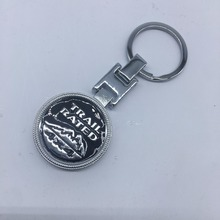 Car-Styling 3D Badge Emblem 4X4 Metal Keyring Keychain For Fiat Bmw Ford Honda volkswagen Audi Lada Key Rings Chain Car Styling