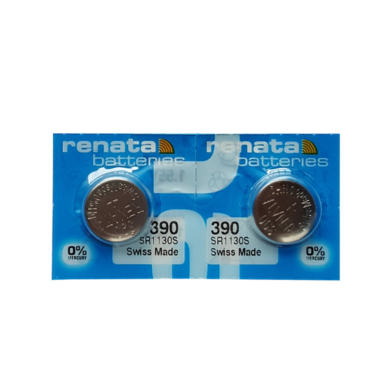 2 шт./лот Рената, Длительное Действие, 390 SR1130SW 389 LR54 AG10 часы Батарея