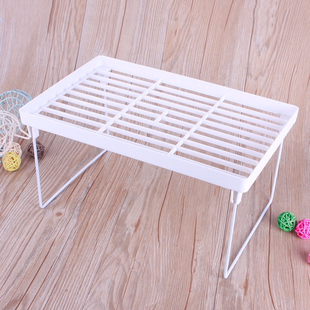 new high quality home kitchen plastic foldable storage shelf rack bathroom holder organizer desk bookshelf