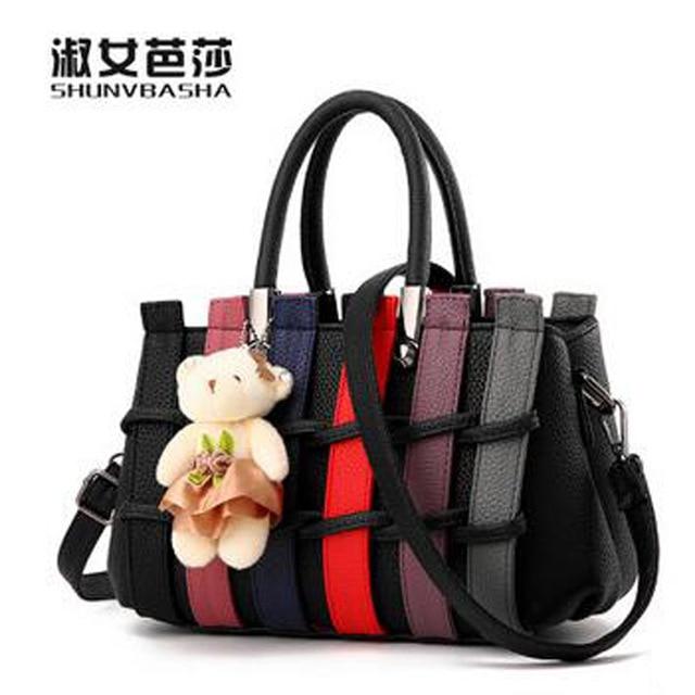 2016ACELURE Women Pu Leather Shoulder Bags Fashion Popular Handbags For Female Bolsa Feminina Ladies Deep Blue Crossbody Bag