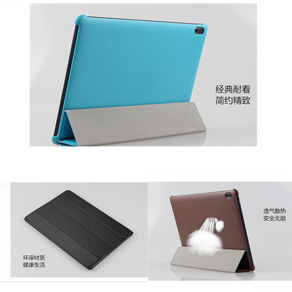 SD Fashion Folding Ultra Thin Flip PU Leather Stand Case For Lenovo ideaTab A10-70 A7600 A7600-h / A7600-f 10.1 inch Tablet
