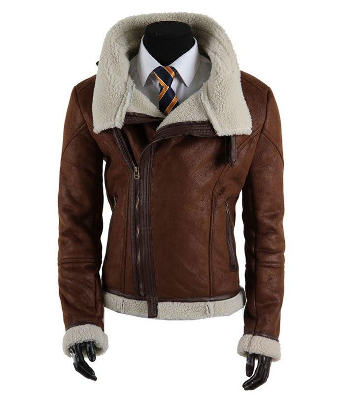 Veste en cuir homme mode 2015