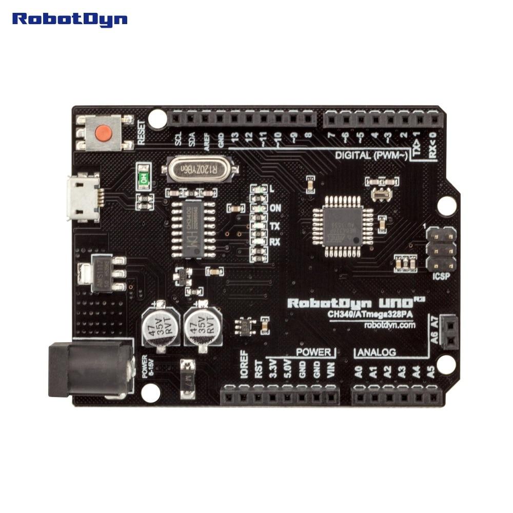 DFRduino UNO R3 - Arduino Compatible - DFRobot
