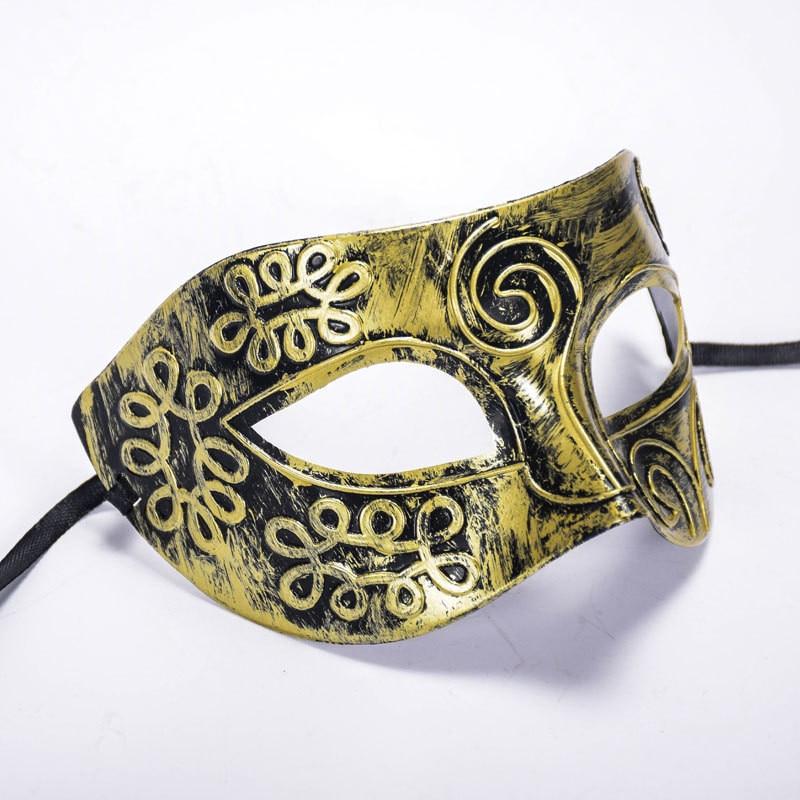 Roman Men Filigree Laser Cut Men Venetian Masquerade Eye Masks Party Halloween Cosplay Wedding Mardi Gras Ball Masks