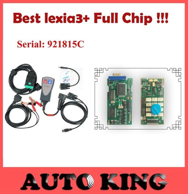 2017 Mejor versión lexia3 con el chip Completo PCB!!! Herramienta de Diagnóstico pps2000 lexia 3 pp2000 DIAGBOX serie 921815 C, envío gratis
