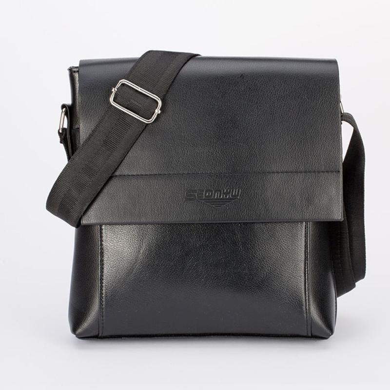 купить Men Handbags Brand Male Bag Purse Bolsa Zipper Flap Small Tote Business Shoulder Messenger Crossbody Handbag 2017New Gift Hot недорого