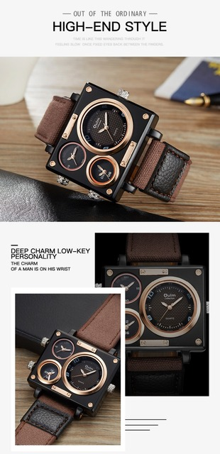 OULM BEST SELLING MAN FASHION MILITARY WATCH Top Brand Luxury Retail Vip Drop Shipping Wholesale Watch Nato Strap MEN Wristwatch
