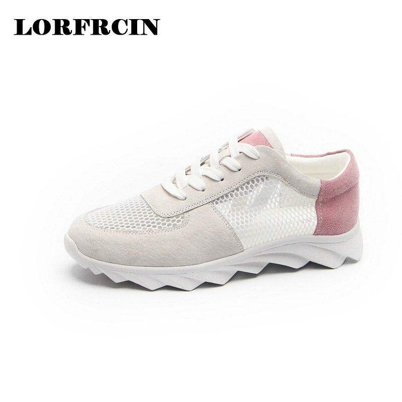 LORFRCIN 2017 Venta Caliente Primavera Verano Zapatos de Las Mujeres Zapatos de