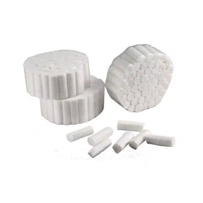 1000 Pz/pacco Usa E Getta Dental Medical Surgical Rotoli Di Cotone Dente Gemma Di Alta Purezza Rotolo Di Cotone Dentista Assicura Il Trasporto Libero