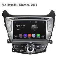 2 Din Android 5.1.1 Quad Core Car Audio GPS Navigator Autoradio Motorized Detachable Automotivo Car DVD Player For Elantra 2014
