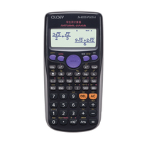 Научный калькулятор Dual power Calculadora Многофункциональный счетчик счетчика 10 цифр + 2 линии дисплея