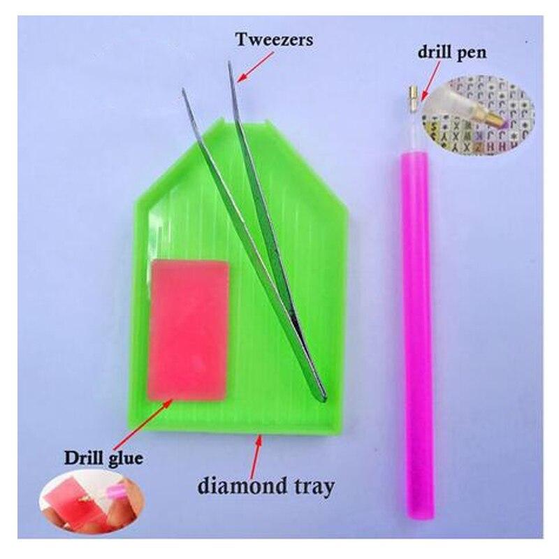 5D volledige diamant schilderij Kleurrijke magic vierkante diamanten AB heldere diamant vormige diamant pauw - 5