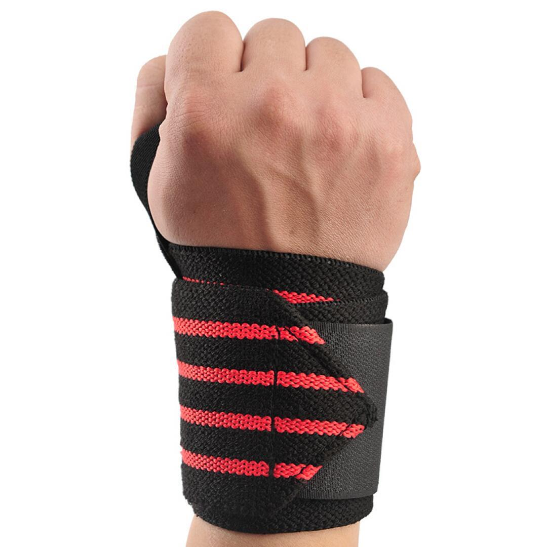 Grip wraps for lifting weights white