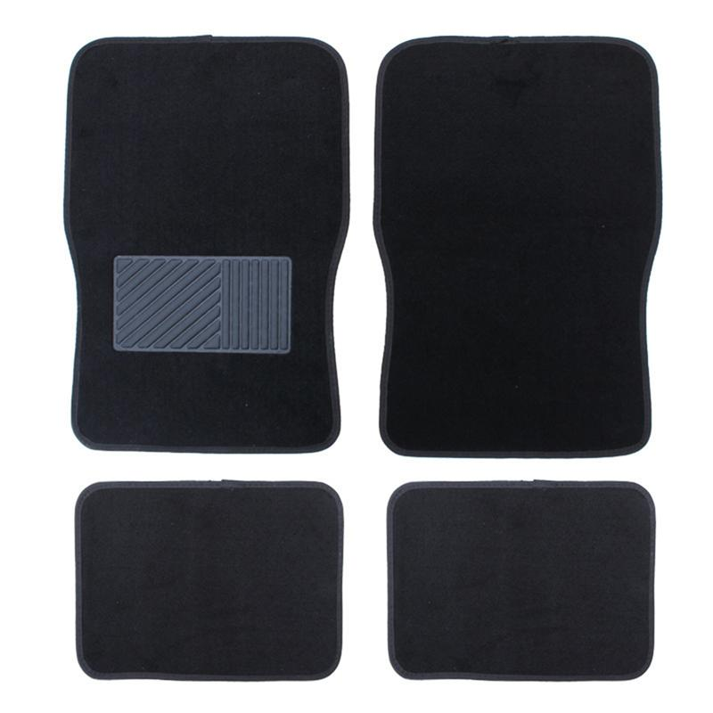 4 pièces Anti-saleté imperméable classique tapis tapis de sol tous temps tapis véhicule tapis de sol universel Auto tapis pour camion SUV