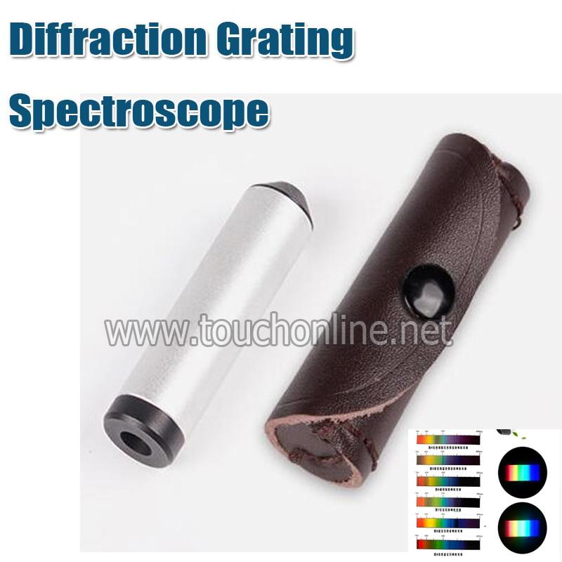 Handheld Diffraction Grating Spectroscope Gemstones Gemological Jeweller Tester Tool TGC01 diffraction physics