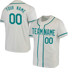 4278f2cf2 College Custom Baseball Jersey for Men Women Youth Button Down Embroidered  Name Number Design Your Own