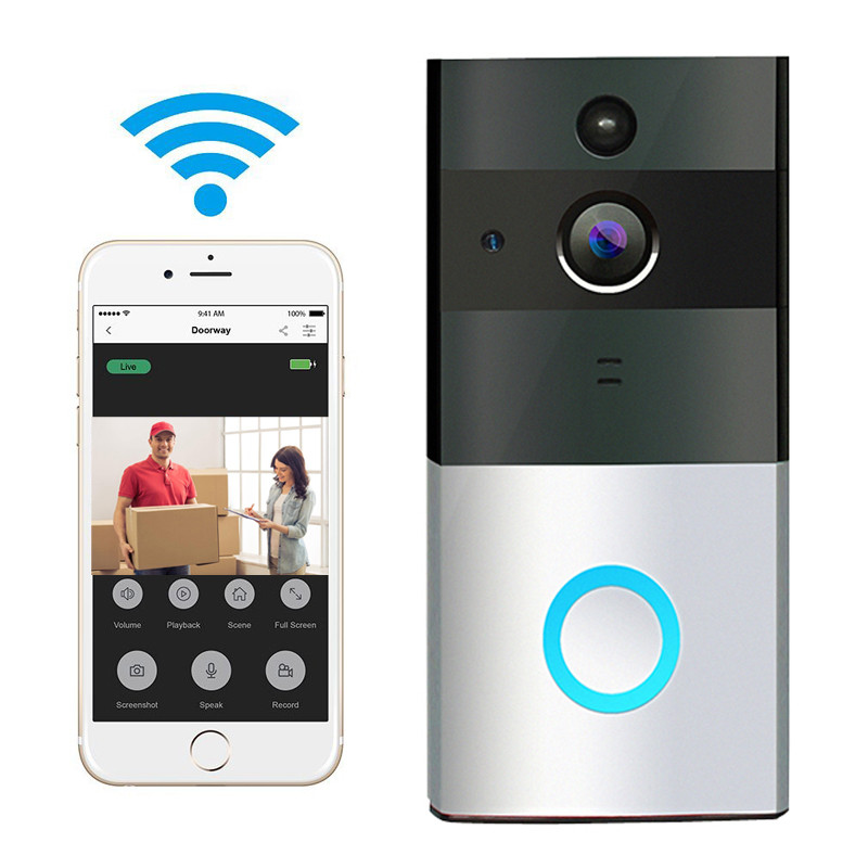 New Wireless Video Doorbell WIFI Remote Intercom Detection Electronic HD Visible Monitor Night Vision