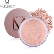 MISS ROSE 12-color set makeup powder loose control oil sunscreen brighten skin tone