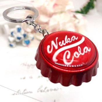 Game Fallout 4 Pendant Alloy Keychain Bottle opener