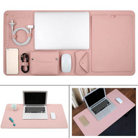 5 in 1 Laptop Sleeve Case Bag for Macbook Air Pro Retina 11 13 15 inch Notebook Pouch Cover Table Mouse Pad Charger Storag Bag