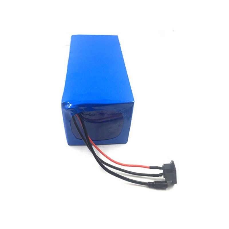 Batterie au lithium-ion de la batterie 52V 40Ah de vélo électrique 14s14p pour le moteur 1000W 1200W pour la cellule de Samsung