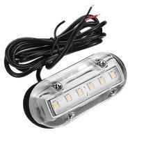 12 V Deniz Yat Tekne LED sualtı ışığı Transom Aydınlatma Beyaz/Mavi/Yeşil Su Geçirmez tekne Aksesuarları