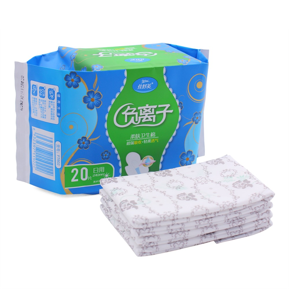 Natural Super Long Pads Sanitary Napkins Absorbent Soft and Breathable Reliable Protection Absorbency of Feminine Periods 2