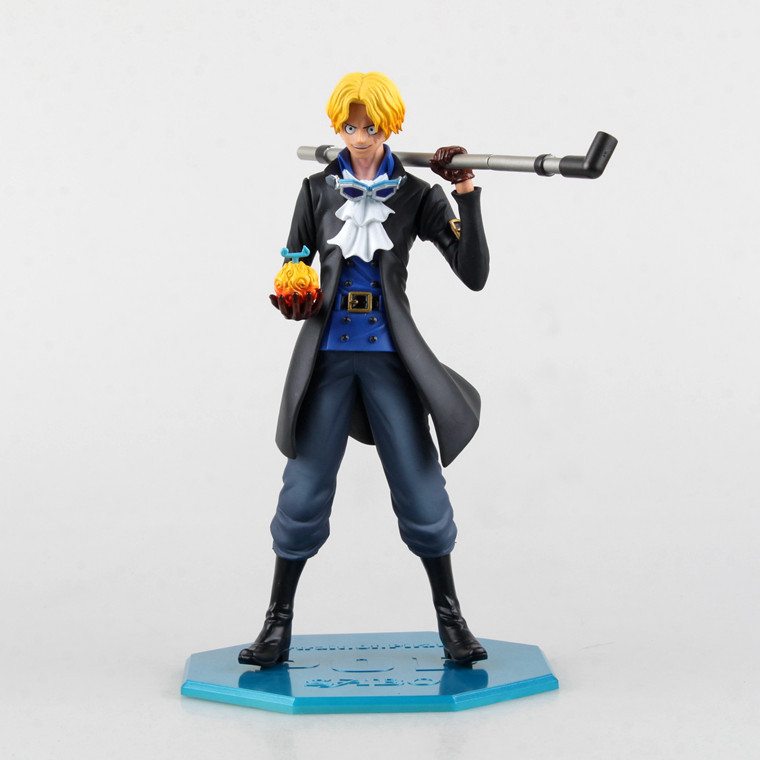 HKXZM Anime 25CM One Piece Sabo PVC Action Figure Toys Models Collectible Gift Doll image
