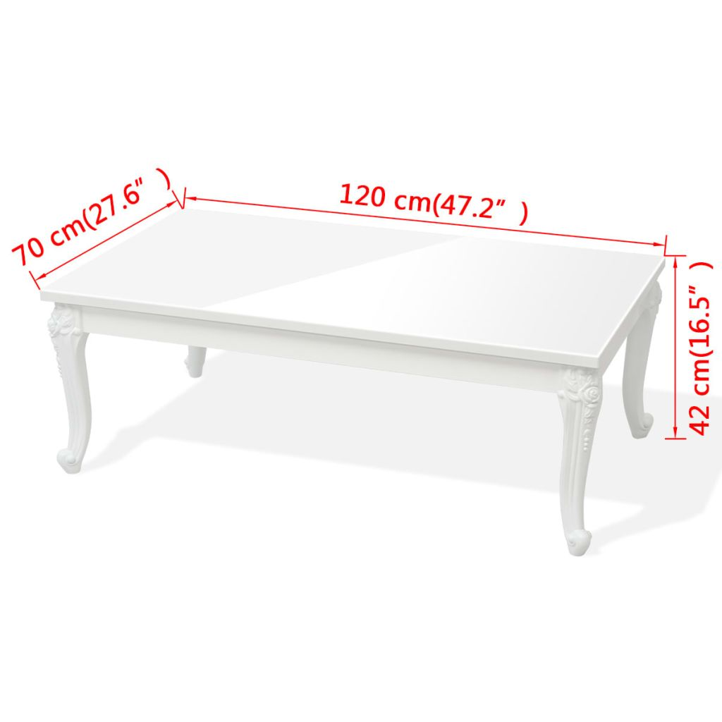Vida Xl Couchtisch Us 120 99 Vidaxl Coffee Table 47 2